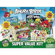 Cra-Z-Art Super Value Kit - Angry Birds - CRA-Z-ART - Toys