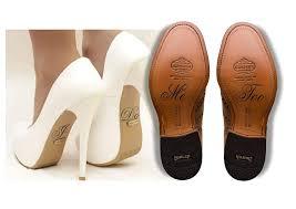 Amazon Com Wedding Shoe Decal Shoe Sticker I Do And Me Too Shoe Decal Bride And Groom Wedding Decal Bridal Shoe Wedding Decorations Handmade