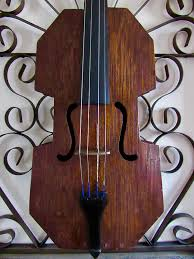 antique folk violin