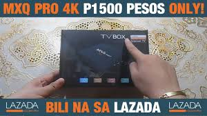 MXQ PRO 4K ₱1,500 PESOS ONLY!!! Unboxing & Review - Lazada ...