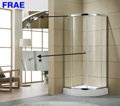 china 6mm round glass shower enclosure