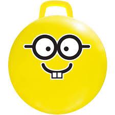 18 Yellow Emoji Jumping Ball Nerd Walmart Com Walmart Com
