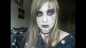 corpse paint black metal makeup