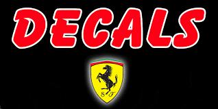 Ferrari Decals Ferrari Emblem Ferrari Logo