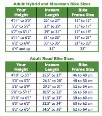 plete bike frame size guide bike