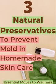 natural preservatives in skin care do