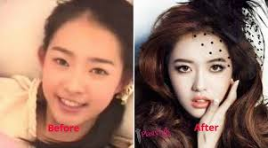 korean actress go ara before and after