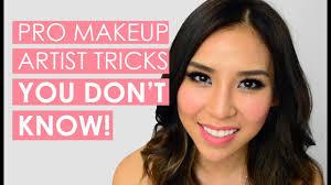 pro makeup artist tips tricks you don