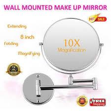 10x magnifying makeup mirror extendable