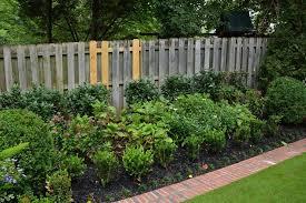 Border Fence For Garden Garden Design Ideas