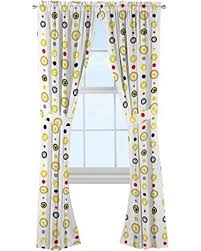 New Bargains On Pokemon Pikachu Kids Room Window Curtain Panels With Tie Backs 82 X 84 White
