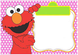 Free Printable Elmo Invitation Templates Invitaciones Elmo