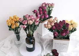 保鮮花(永生花)與乾花及普通鮮花的分別 時尚花店 Léselle