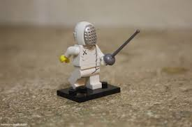 A Year Of Toys 5 Lego Minifigures Series 13 Fencer