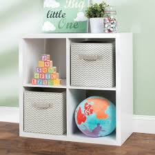 Kids Room Nursery Fabric Cube Storage Bin Closet Organizer