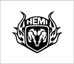 Hemi Dodge Vinyl Decal Vinyl Sticker Decal Sticker Cut Vinyl Etsy