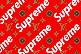 supreme louis vuitton wallpapers