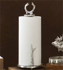 antler countertop paper towel holder