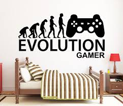 Gamer Wall Decal Video Games Wall Sticker Controller Wall Etsy Wall Decals Room Wall Art Custom Wall Decal