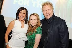 L-R; Actors Patricia Heaton, Abbie Cobb and David Hunt attend the ...
