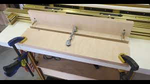 Router Table Micro Adjuster Youtube