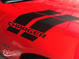 Dodge Charger Hash Stripes 2015 2018 Vinyl Decal Mopar Hemi Scat Pack Rt Sxt Mopars Com