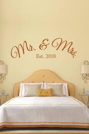 Mr And Mrs Est Wall Decals Walltat