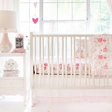 vintage rose crib bedding new