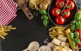 tomatoes food italian pasta basil
