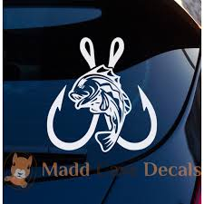 Fish Hook Decal