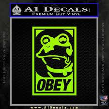 Futurama Hypnotoad Obey Decal Sticker A1 Decals