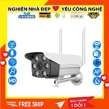 Camera wifi giám sát ngoài trời Yoosee, camera giám sát với 6 đèn led Full  HD giảm chỉ còn 406,000 đ
