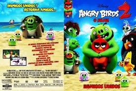 MUNDO DAS CAPAS BJ: CAPA-DVD-INFANTIL-Angry-Birds-O-Filme-2-2019