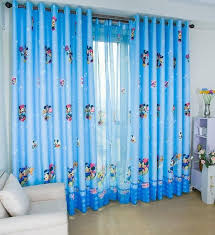 Disney Mickey And Minnie Blue Thick Window Curtain For Boys Girls Room Girls Room Curtains Baby Room Curtains Boys Room Curtains