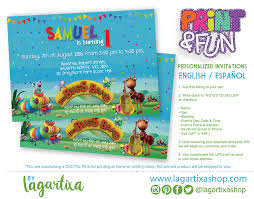 Invitations For Kids Invitaciones Para Fiestas Cumpleanos Print Fun
