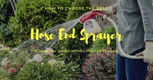 top 8 best hose end sprayers chapin