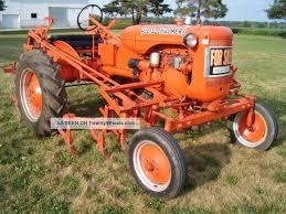 allis chalmers c farm tractor antique
