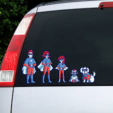 Labels For Kids Family Car Decals
