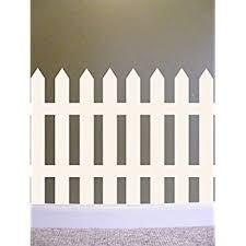 Amazon Com Yilooom Picket Fence Vinyl Wall Decal Fence Wall Decal Classroom Wall Decal Teacher Decals Preschool Elementary School Wall Decorations Teacher 12 Inch In Width Kitchen Dining