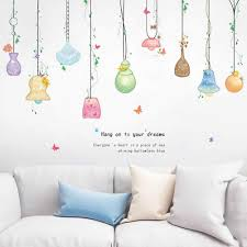 Ceiling Lamp Pendant Wall Sticker Self Adhesive Hallway Wardrobe Decal Decor Living Room Background Bedroom Wall Decorations Wall Stickers Aliexpress