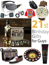 gifts for male 21st birthday