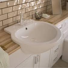 semi recessed basins ing guide