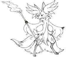 project fakemon mega delphox by xxd17 on deviantart | Pokemon sketch,  Pokemon, Pokemon breeds