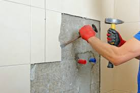 ceramic wall tile without damaging