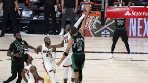 Bam! Adebayo's block helps Heat win Game 1 over Celtics