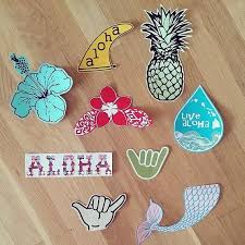 Hydro Flask Stickers Custom Decals For Your Hydroflask Pineapple Mermaid Tail Stickers Personalized Sticker H Preppy Stickers Hydroflask Stickers Custom Decals