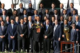 cleveland cavaliers trip to white house