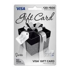 vanilla visa gift box gift card