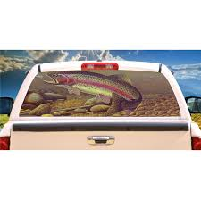Trout Fish Window Mural Tint Decal Custom Tire Covers