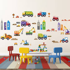 Cherrycreekdecals City Construction Nursery Wall Decal Reviews Wayfair